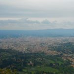 Florence in the distance from Fiesole