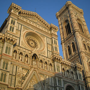 Florence Dan Brown places