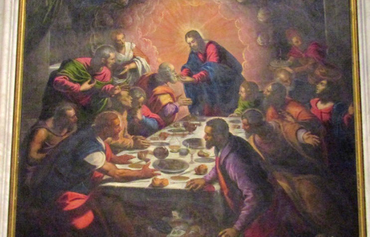 Ultima Cena by Tintoretto