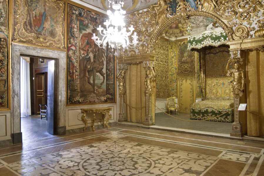 Palazzo Mansi - Alcova
