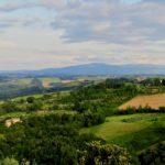 Siena province landscape